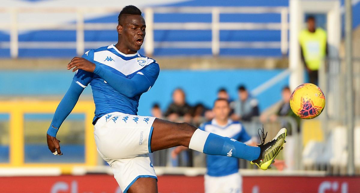 Brescia, Grosso allontana Balotelli dall'allenamento