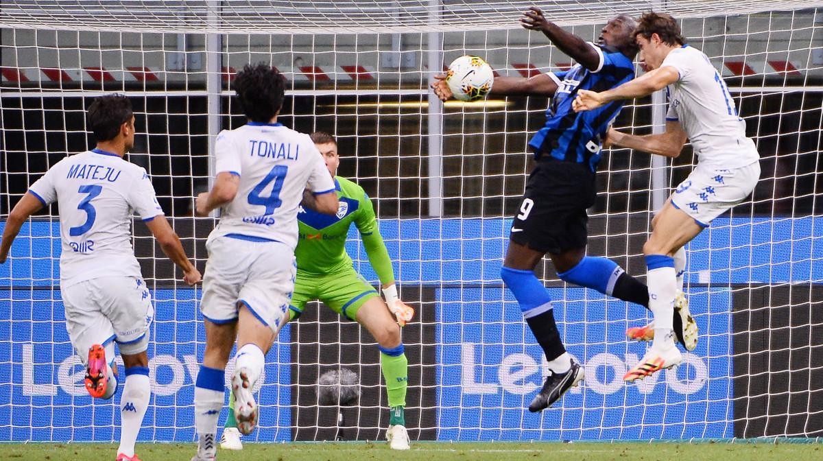 Inter-Brescia 6-0: trionfo tennistico per i nerazzurri, ospiti umiliati