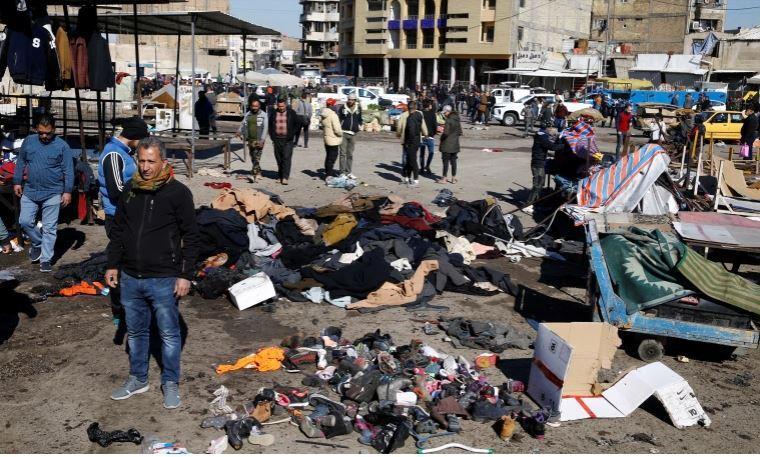Kamikaze si fa esplodere nel centro di Baghdad: almeno 28 morti