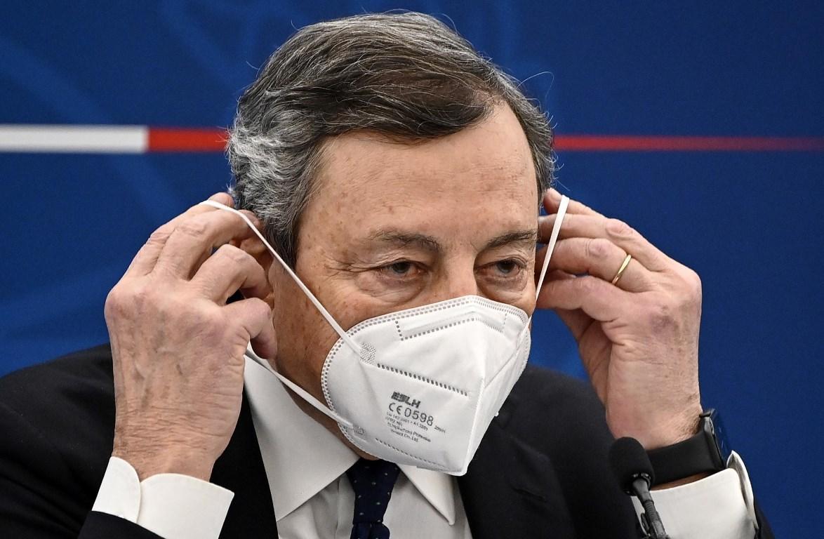 Covid: Draghi, importante procedere spediti, più importante vaccinare fragili e anziani